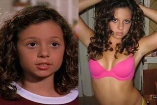 """Ruthie di """"Settimo Cielo"""" ora fa foto hot, l'attrice prima e dopo"""