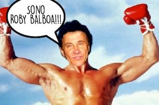 """Facchinetti: """"Mio padre cammina già senza stampelle, è Roby Balboa"""""""