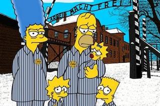 Giornata della Memoria, I Simpson diventano ebrei ad Auschwitz