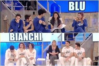I Blu di Elisa e i Bianchi di Emma ad Amici 14