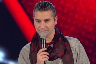 """Dennis dopo l'eliminazione da The Voice: """"La canzone di Mengoni non l'ho scelta io"""""""