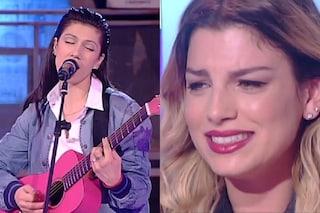 """Amici 14, Elisa canta """"Amami"""" di Emma Marrone e lei non trattiene le lacrime (VIDEO)"""