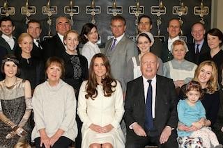 "Kate Middleton in visita sul set di ""Downton Abbey"" (FOTO)"