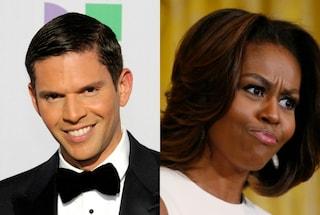 Paragona Michelle Obama a una scimmia, licenziato presentatore tv