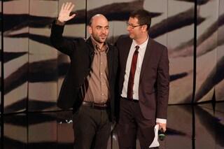 Fazio e Saviano tornano insieme in tv, prima serata su Rai1 il 25 aprile