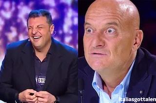 Fenomeno a Italia's Got Talent imita Claudio Bisio e Renzi alla perfezione