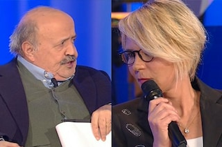 """Maurizio Costanzo chiede a Maria De Filippi: """"Fai un talent sugli anziani, che partecipo"""""""