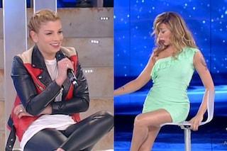 """La Belen di Virginia Raffaele ad Emma: """"Presentami il tuo nuovo ragazzo"""""""