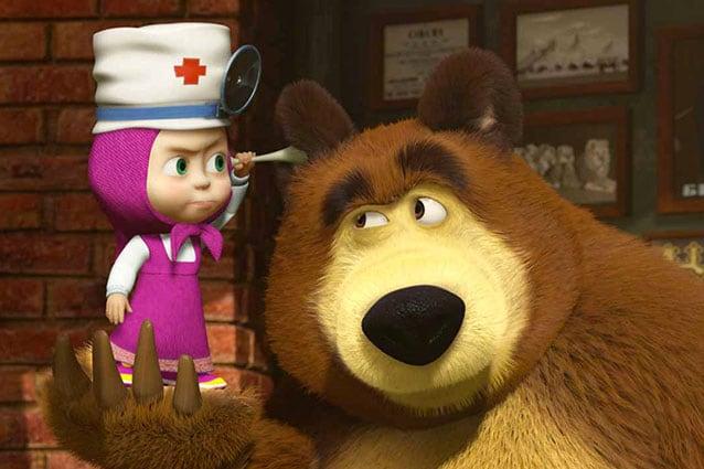 Addio peppa pig ora ci sono masha & orso nel cuore dei bambini