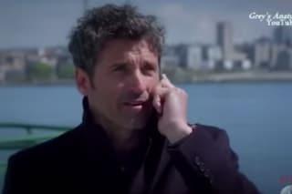 """Grey's Anatomy 11, Derek torna nel finale: """"Ti amo Meredith, sei la mia casa"""" (VIDEO)"""