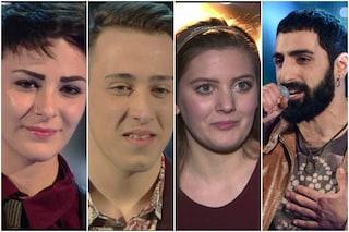 I quattro finalisti di The Voice of Italy 2015