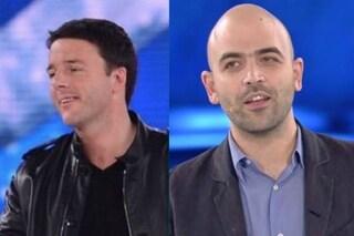 """""""Matteo Renzi ospite alla finale di Amici"""": dentro il premier e fuori Roberto Saviano?"""