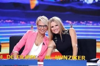 """""""Amici Celebrities"""", doppia conduzione confermata: """"Prima Maria De Filippi, poi Michelle Hunziker"""""""
