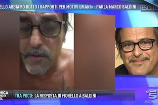 """Marco Baldini a Domenica Live: """"Non tornerò con Fiorello, adesso sto meglio"""""""