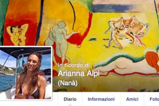 Il profilo Facebook di Arianna Alpi è diventato una pagina in sua memoria