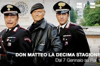 Don Matteo 10 andrà in onda dal 7 gennaio 2016 su Rai1