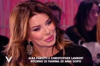 """Alba Parietti è tornata con Christopher Lambert: """"Siamo vecchi ma ancora da copertina"""""""