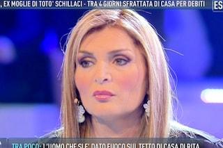 """Rita, l'ex moglie di Schillaci non cede allo sfratto: """"Non avrete mai la mia casa"""""""