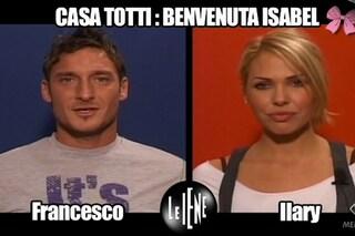 """Totti e Ilary, l'intervista doppia per Isabel: """"Se tifa Lazio, non entrerà più in casa"""""""