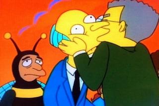 """Svolta ne 'I Simpson', Smithers si dichiara gay: """"Anche un cartone può cambiare le cose"""""""