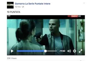 Gomorra 2 e la beffa a Sky, così le puntate vengono piratate in diretta su Facebook