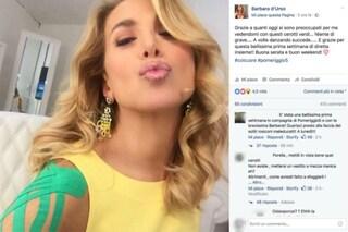 """Barbara D'Urso in onda con i cerotti: """"Nulla di grave, mi sono fatta male danzando"""""""