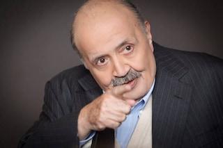"""Maurizio Costanzo dopo le polemiche sul suo show: """"Assurde, io pago sierologico a tutti e plexiglas"""""""