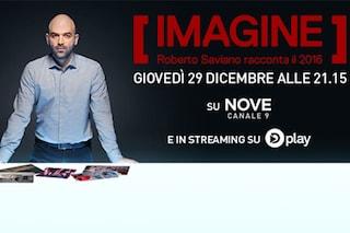 'Imagine', lo speciale condotto da Roberto Saviano per salutare il 2016