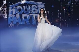 """Domani sera """"House Party"""" festeggia il Natale 2016 con Laura Pausini e Gerry Scotti"""