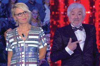 Gigi Proietti e Maria De Filippi in tv, è un testa a testa ricco di emozioni