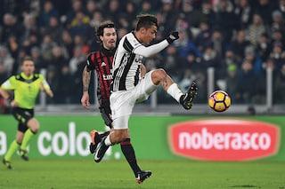 Più di 7 milioni di spettatori hanno visto la partita tra Juventus e Milan