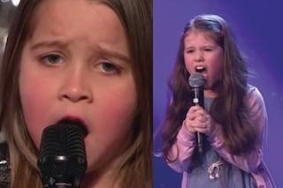 """La bambina che canta metal nella pubblicità si ispira ad Aaralyn di """"America's Got Talent"""""""