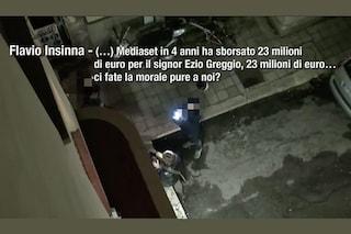 """""""Dovete 'attapirare' Greggio per l'evasione fiscale"""": il video mai trasmesso del Tapiro a Insinna"""