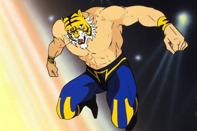 Uomo tigre ii il sequel del cartoon giapponese andava in onda