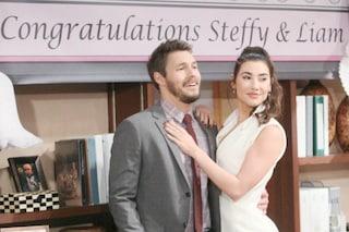 Anticipazioni 'Beautiful', 16 - 21 ottobre: il matrimonio di Liam e Steffy e la tristezza di Wyatt