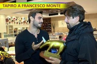 """Tapiro d'Oro a Francesco Monte che assicura: """"Non perdonerò Cecilia Rodriguez"""""""