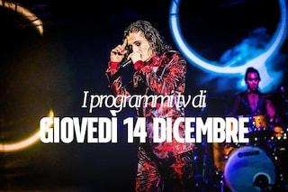 Film e programmi tv di stasera, giovedì 14 dicembre