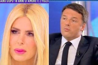"""Renzi e la Lecciso fanno felice """"Domenica Live"""", ascolti ancora giù per """"Domenica In"""""""