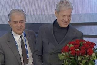 """Teodoli e le rose a Baglioni: """"Così non dite che non lo corteggio"""""""