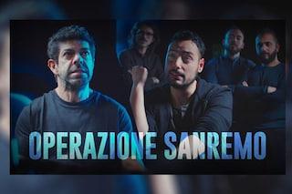 """Sanremo 2018, i The JackaL rapiscono Pierfrancesco Favino: """"Il nostro messaggio sarà Gnigni"""""""