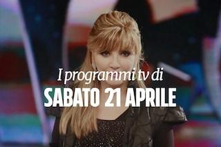 Cosa c'è stasera in tv: i programmi e i film di oggi 21 aprile