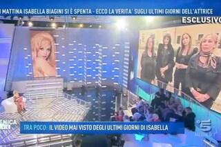 """Morte Isabella Biagini, Barbara D'Urso: """"Erano i suoi ultimi giorni e lei l'aveva capito"""""""