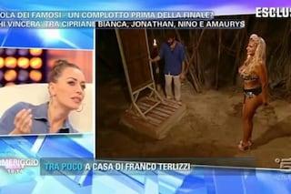 """Karina Cascella: """"È Elena Morali la naufraga che ha corteggiato Marco Ferri"""""""