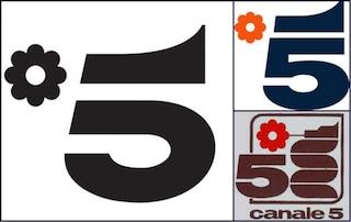 Canale 5 cambia logo insieme a quello del Tg5, che avrà anche una nuova sigla