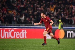 La Roma strapazza il Barcellona in un match che ha dominato gli ascolti tv