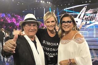 Simona Ventura dispiaciuta per Loredana Lecciso a causa di Al Bano Carrisi e Romina Power
