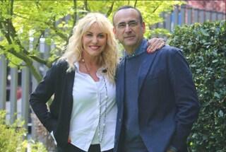 Carlo Conti e Antonella Clerici conducono la Partita del Cuore 2018 in ricordo di Fabrizio Frizzi