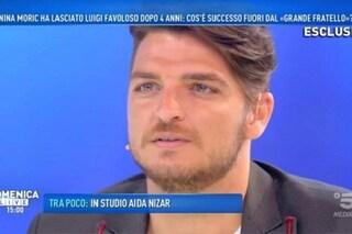 """Grande Fratello 2018, Luigi Favoloso: """"Io e Nina Moric non ci siamo più parlati dopo il GF. Mi scuso con le donne"""""""