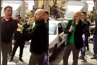 """Schiaffo a Luca Abete, l'inviato di Striscia sulle accuse di farsa: """"Metodo camorristico"""""""