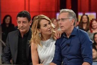 """Barbara D'Urso: """"Sono l'unica regina dei reality"""" poi Paolo Bonolis le insegna il bacio alla francese"""